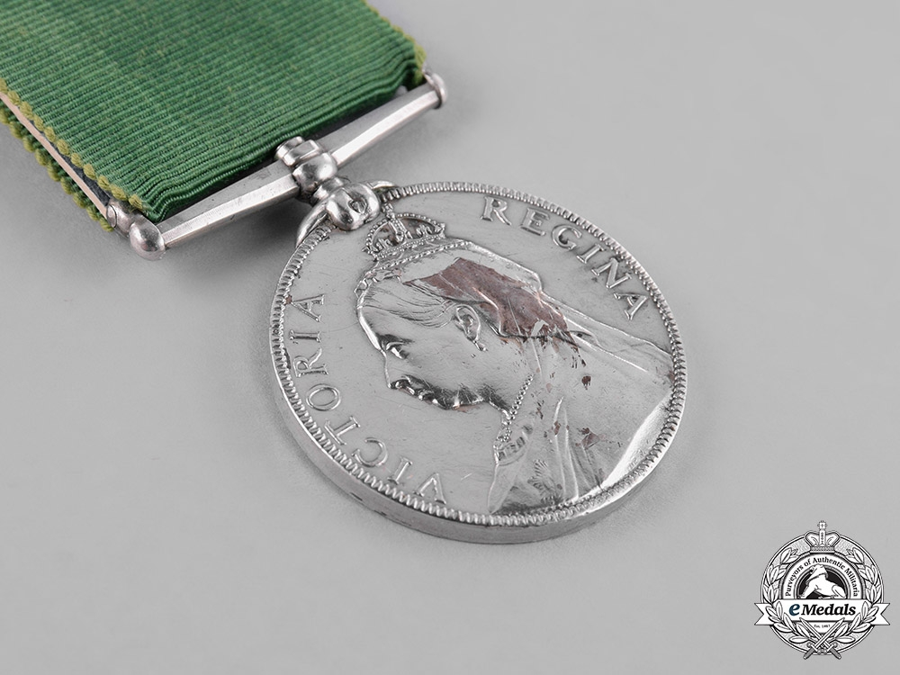 Great Britain. Volunteer Long Service and Good Conduct Medal, Unnamed