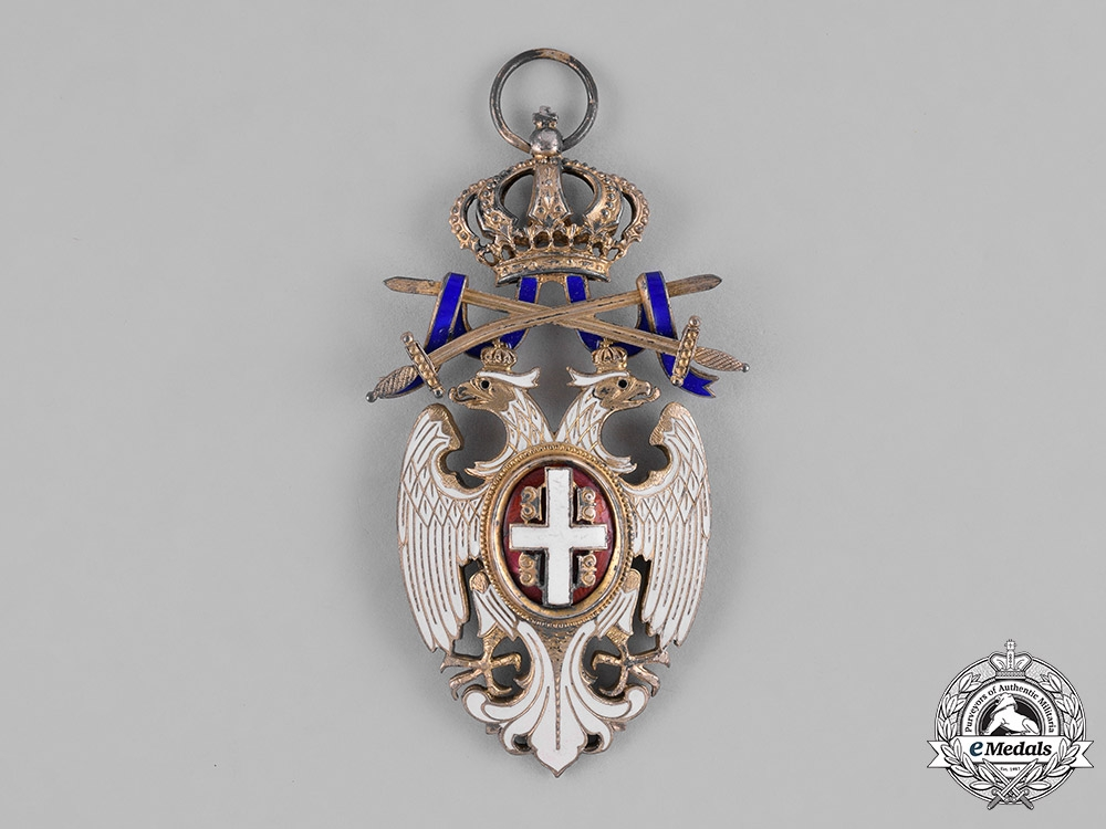 Serbia, Kingdom. An Order of the White Eagle, I Class Grand Cross, c.1915