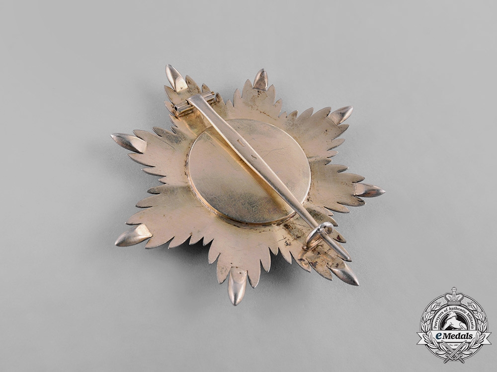 Oldenburg, Grand Duchy. A House & Merit Order of Duke Peter Friedrich Ludwig, Grand Cross Star, c. 1860