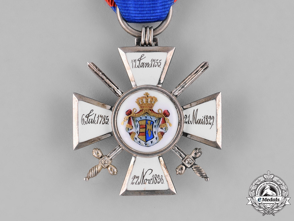 Oldenburg, Grand Duchy. A House and Merit Order, II Class Knight, c.1914