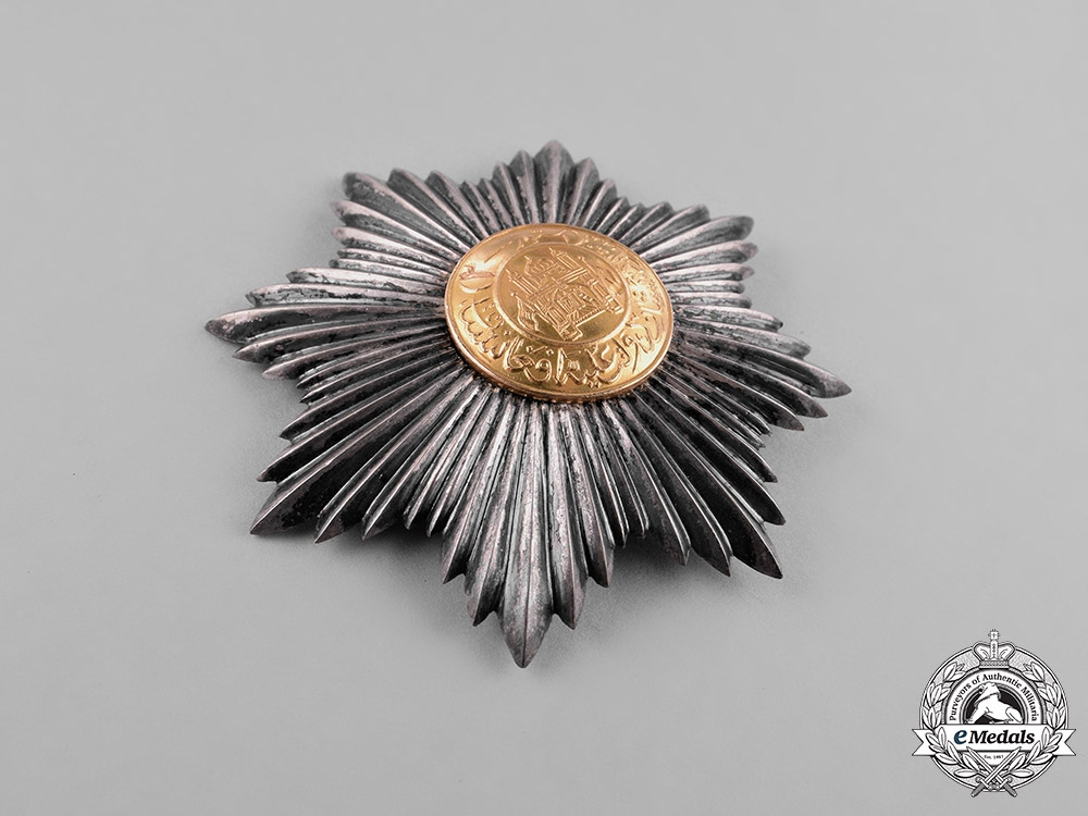 Afghanistan, Kingdom. An Order of the Star, II Class Grand Officer, c.1927