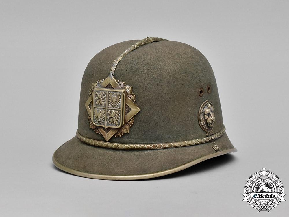 Czechoslovakia, Protectorate of Bohemia & Moravia. A Protectorate of Bohemia & Moravia Gendarmerie Helmet, c.1940