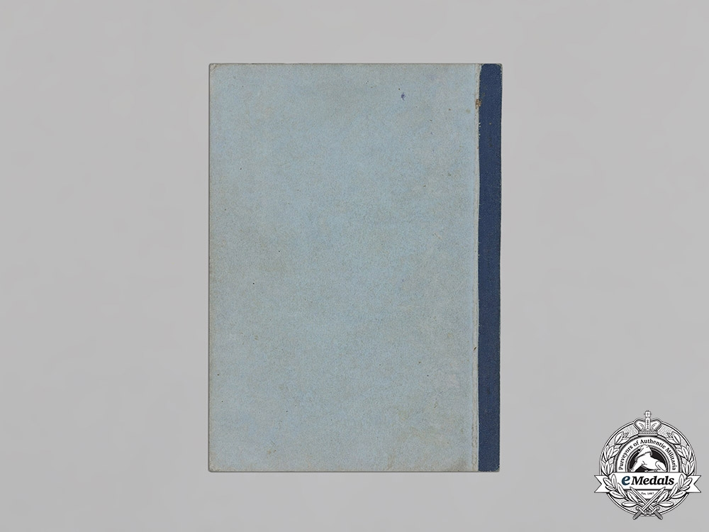 Germany, Third Reich. A Book of National Breeding Standards, 1936