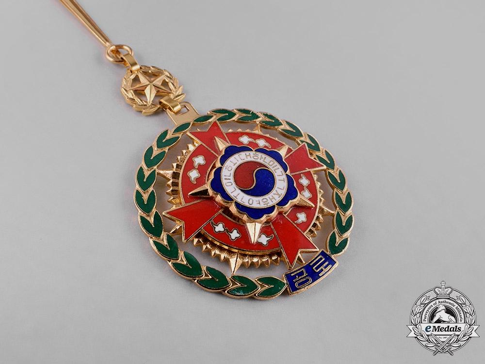 Korea, Republic. A Veterans Association, Ministry of Patriots and Veterans Affairs (KVA, MPVA) Award