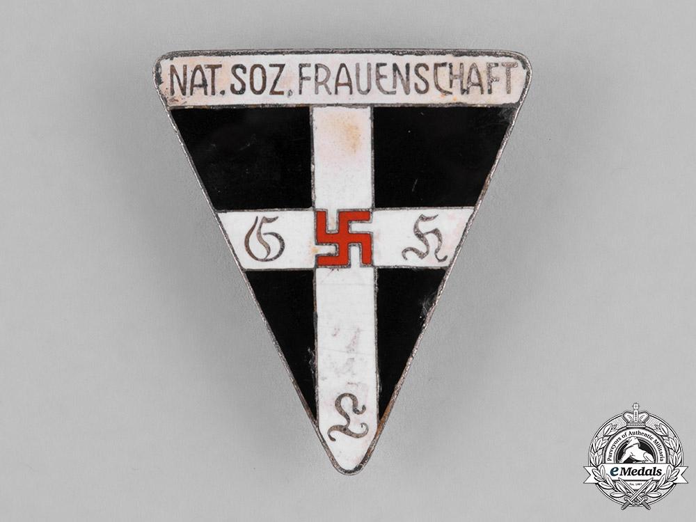 Germany, NS-Frauenschaft. A National Socialist Women's League (NS-Frauenschaft) Membership Badge by Johann Dittrich