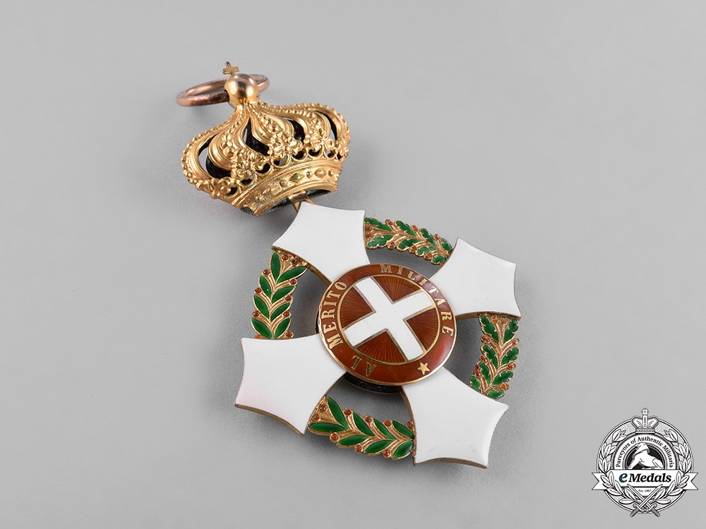 Italy, Kingdom. A Military Order of Savoy in Gold, Grand Cross Badge, c.1915
