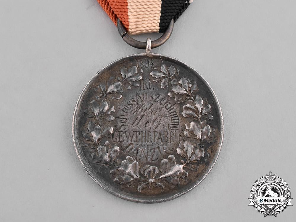 Germany, Imperial. A Wilhelm II Shooting Award Belonging to Gilbert Wolf
