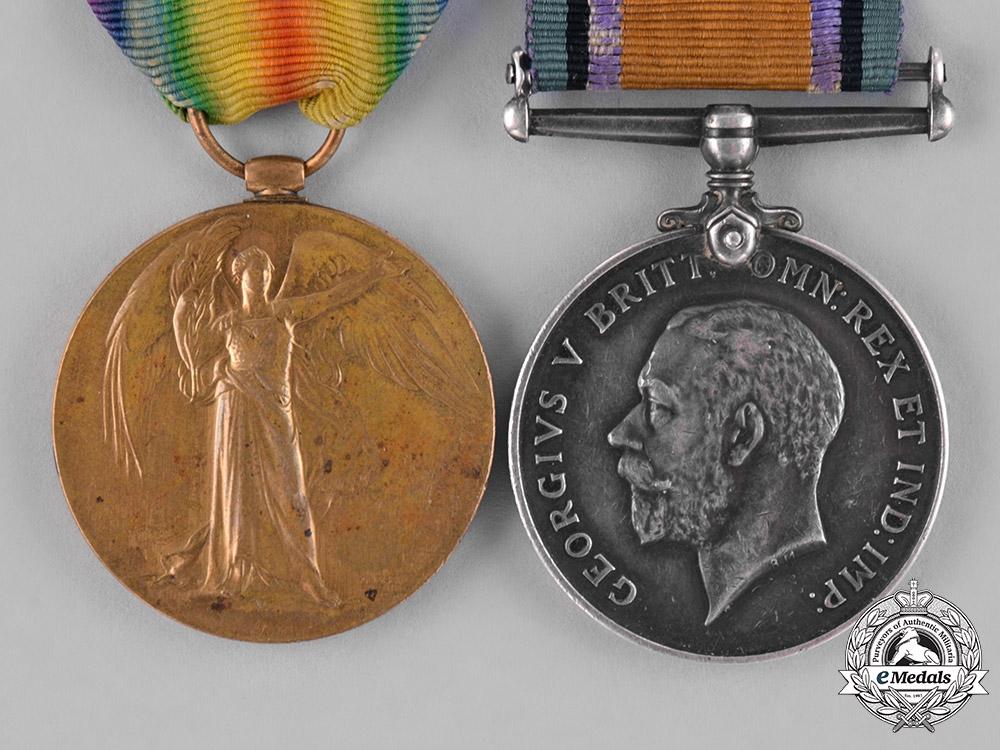 United Kingdom. A Scarce First War Pair to August Purin, Slavo-British Legion