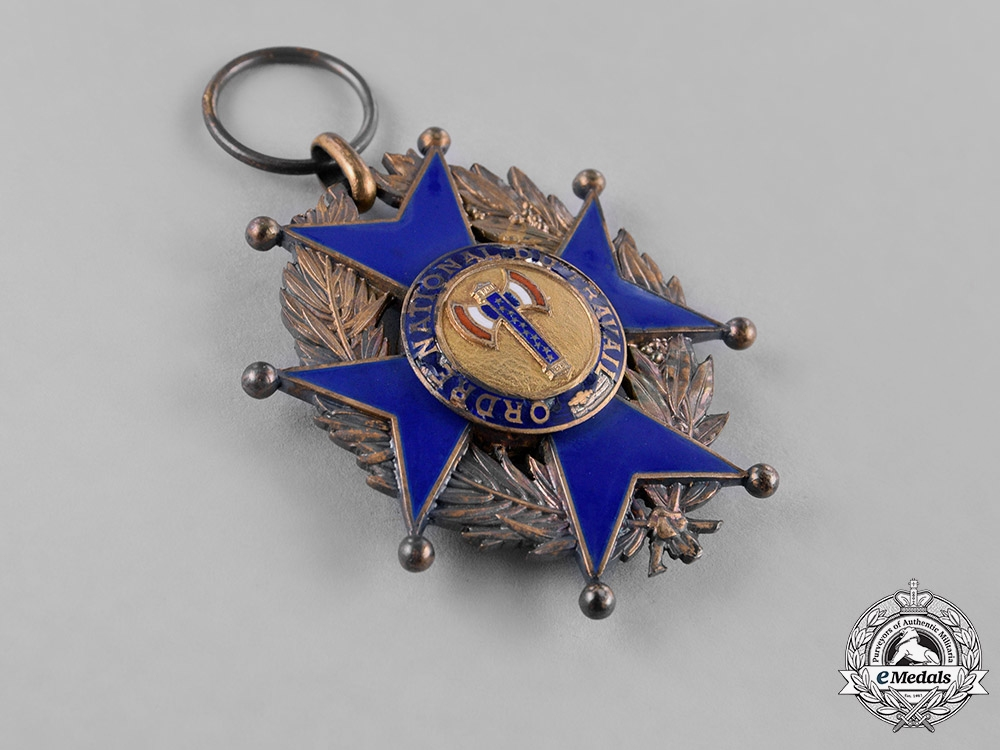 France, Vichy Government. A National Order of Labour, Knight, c.1942