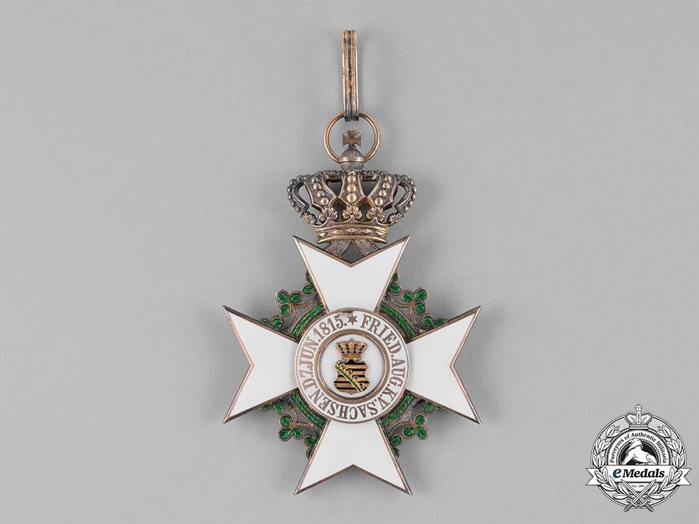 Saxony, Kingdom. A Civil Merit Order, Commander with Crown, by Scharffenberg, c.1910