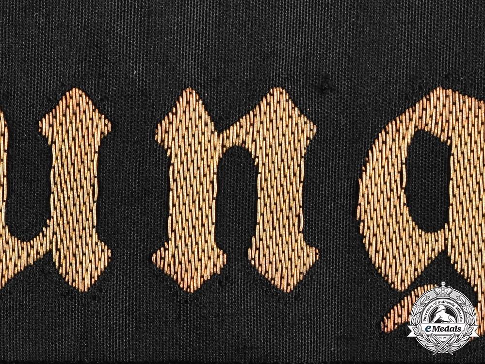 Germany, Kriegsmarine. A Supplementary Battalion Cap Ribbon
