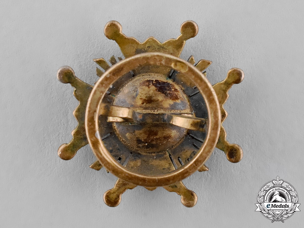 Spain, Franco's Period. A Miniature Order of Isabella the Catholic, Grand Cross Star, c.1950