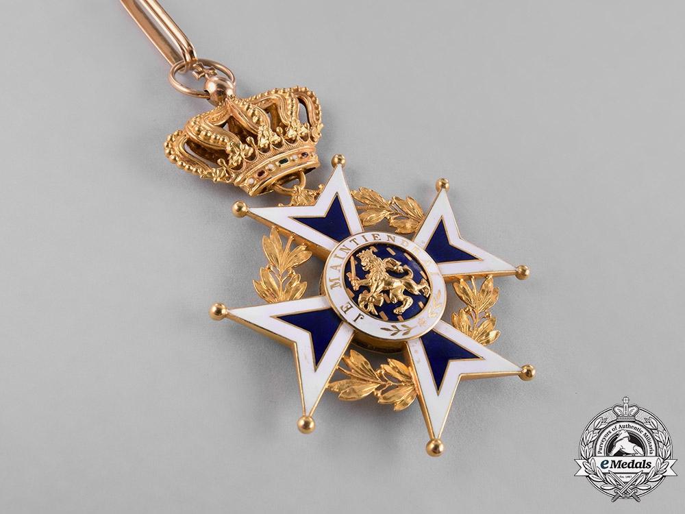 Netherlands, Kingdom. An Order of Orange-Nassau in Gold, Grand Officer Cross, c.1900