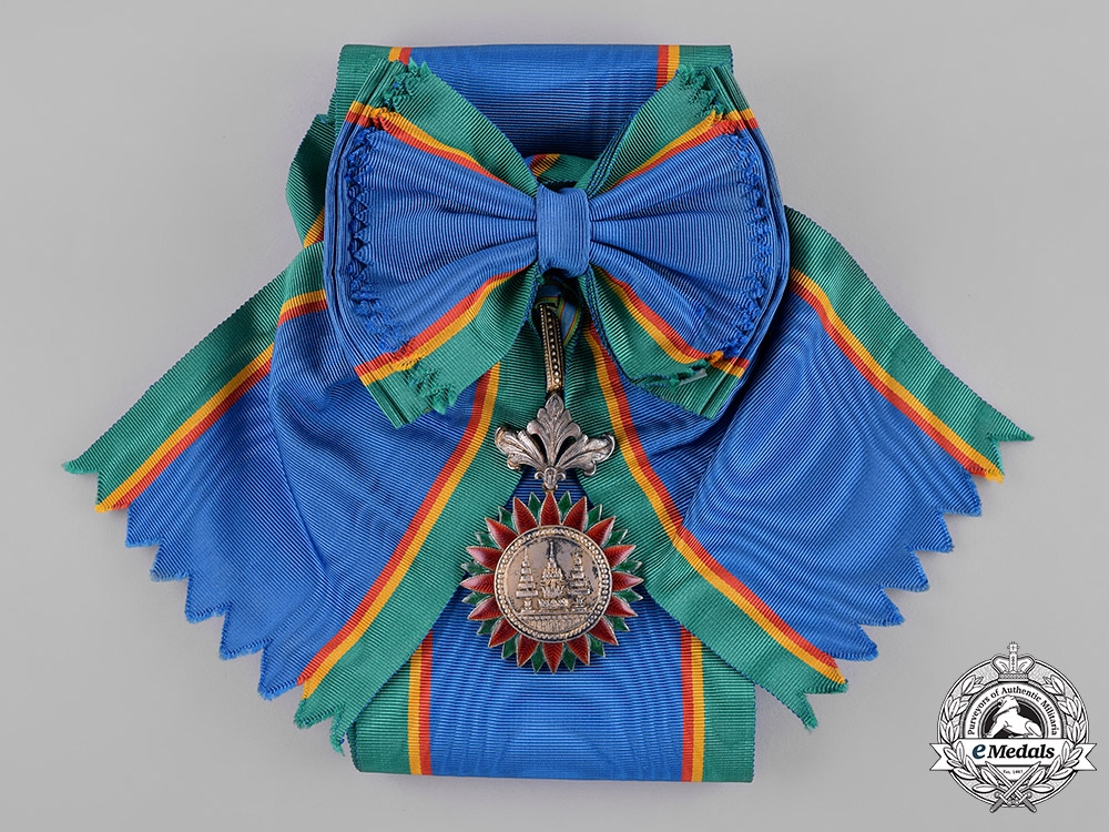 Thailand, Kingdom. A Most Noble Order of the Crown, I Class Grand Cross, by J. W. Benson, c.1935