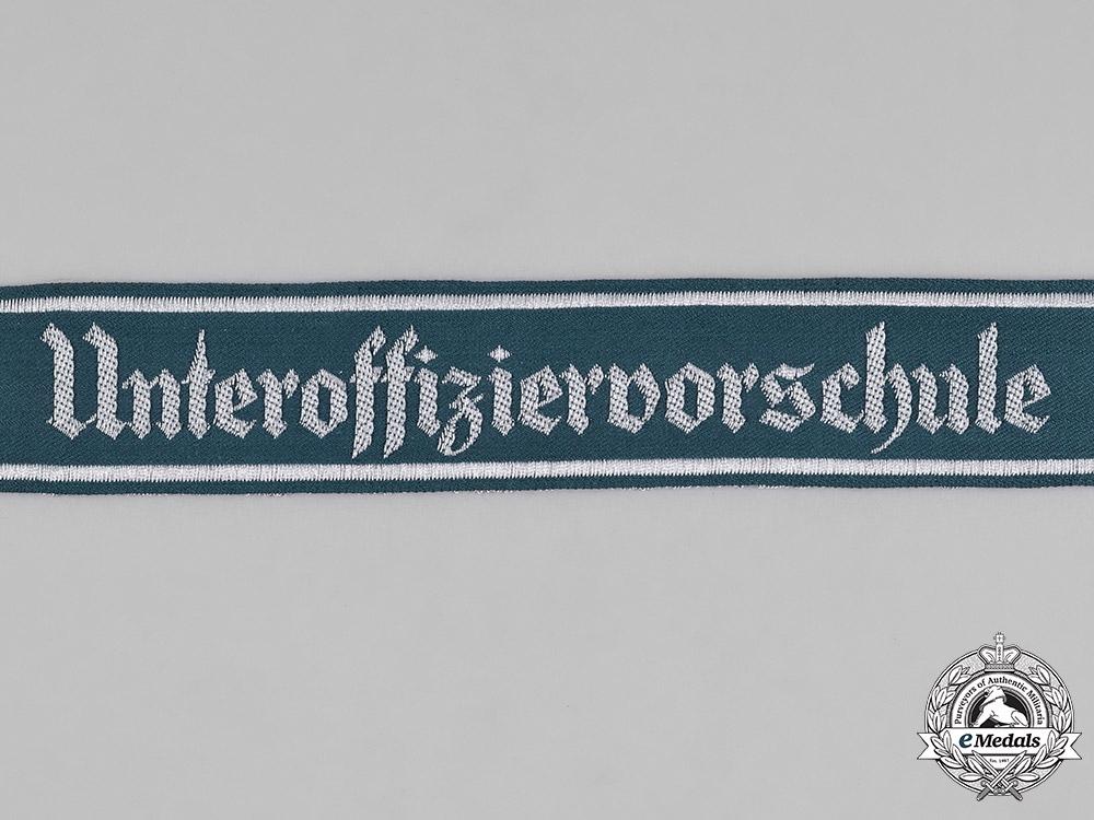 Germany, Heer. An Army NCO Preparatory School Cuff Title