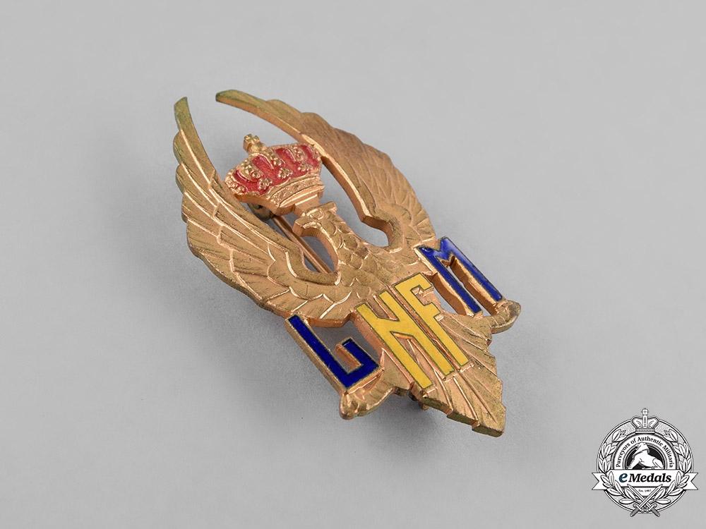 Romania, Kingdom. A Nicolae Filipescu Military High School Badge