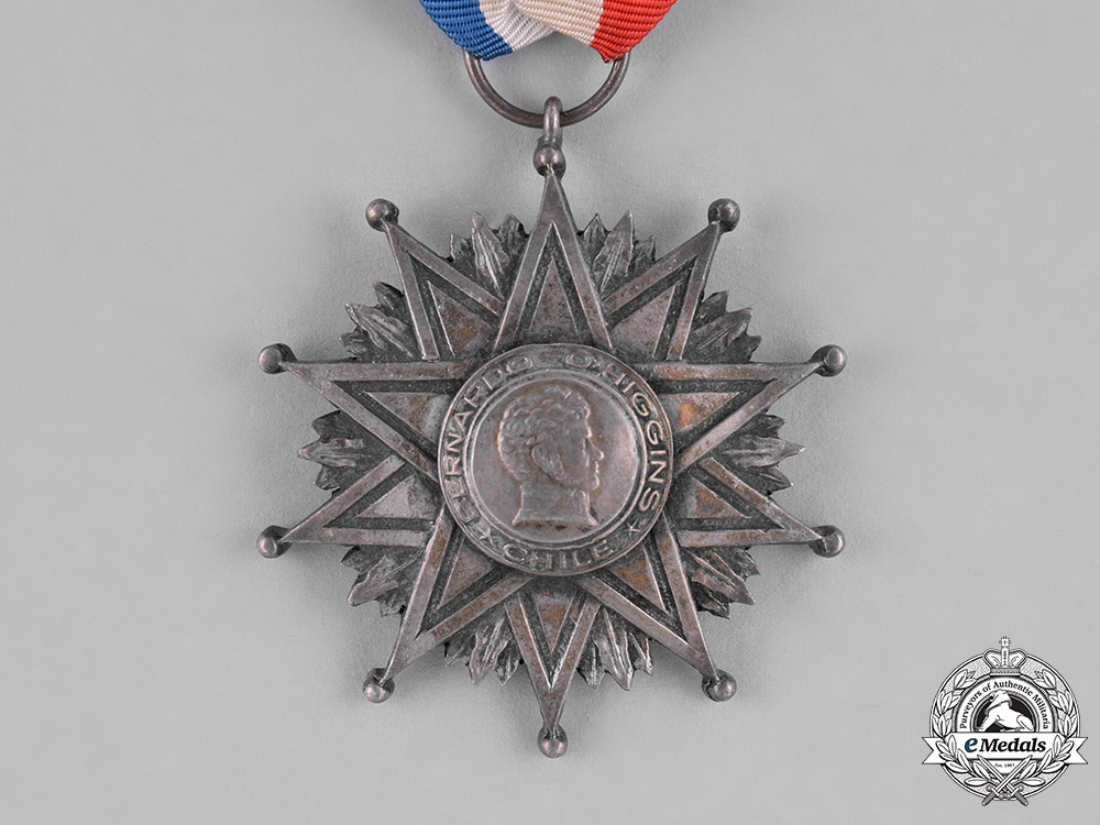 Chile, Republic. An Order of Bernardo O'Higgins, II Class Knight c.1970