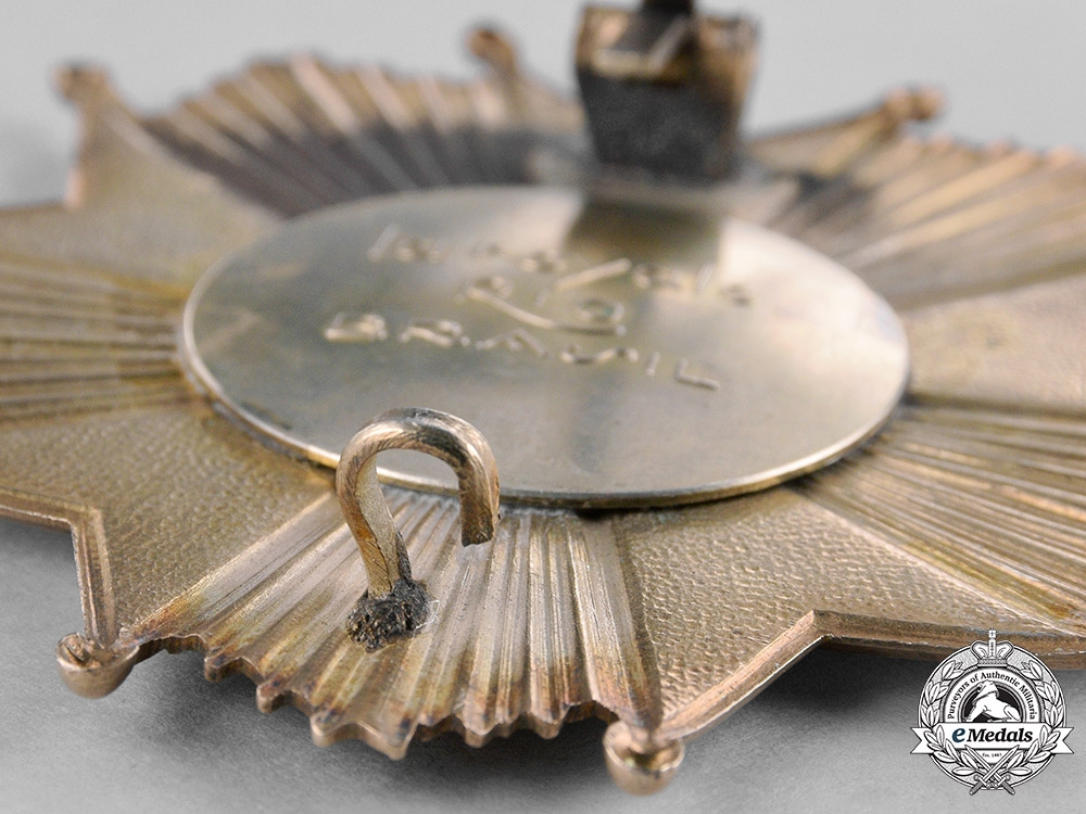 Brazil, Republic. A National Order of the Southern Cross, Commander's Breast Star, Type III