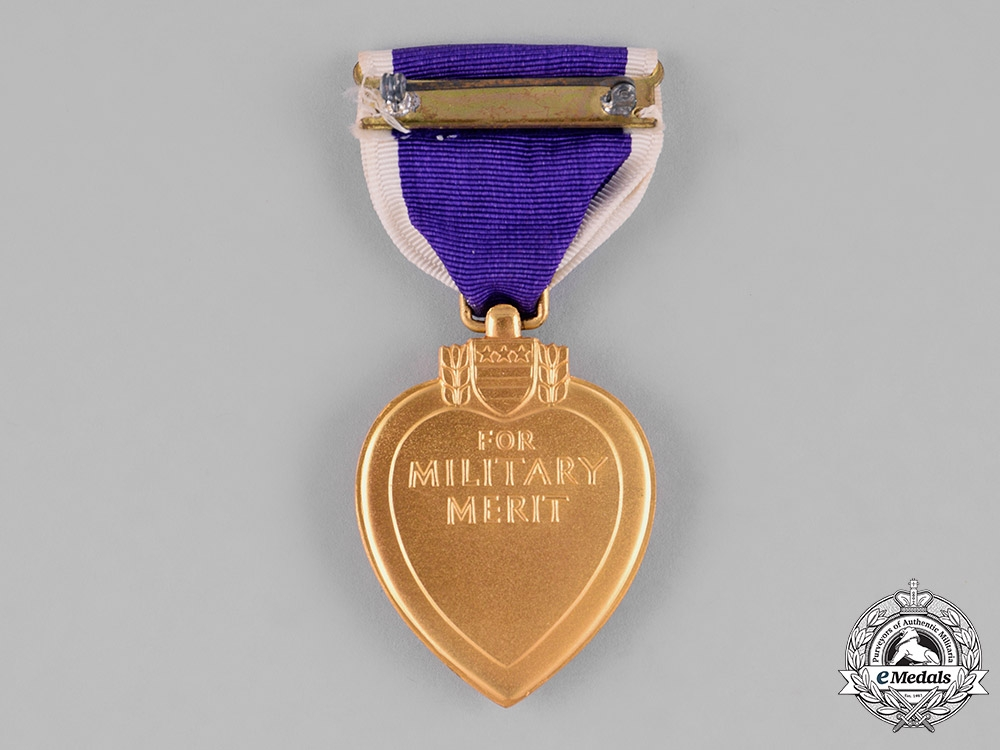 United States. A Purple Heart with Case