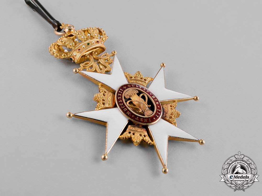 Sweden, Kingdom. An Order of Vasa in Gold, I Class Commander, c.1900