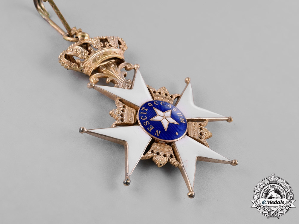 Sweden, Kingdom. An Order of the North Star, Grand Cross, C.F. Carlman, 1924