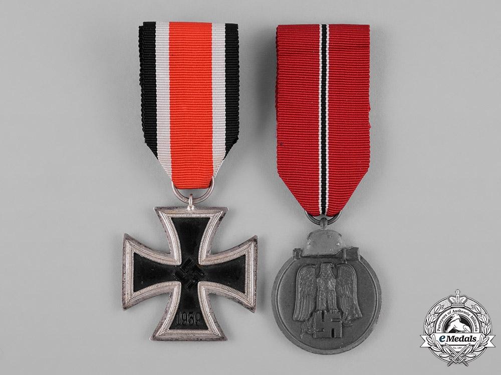 Germany, Heer. The Awards And Documents Of Pionier NCO Josef Schmid (EK1, CCC)