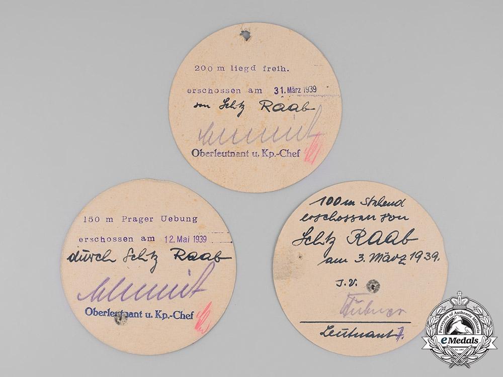 Germany, Heer. An Award Group to Unteroffizier Josef Raab
