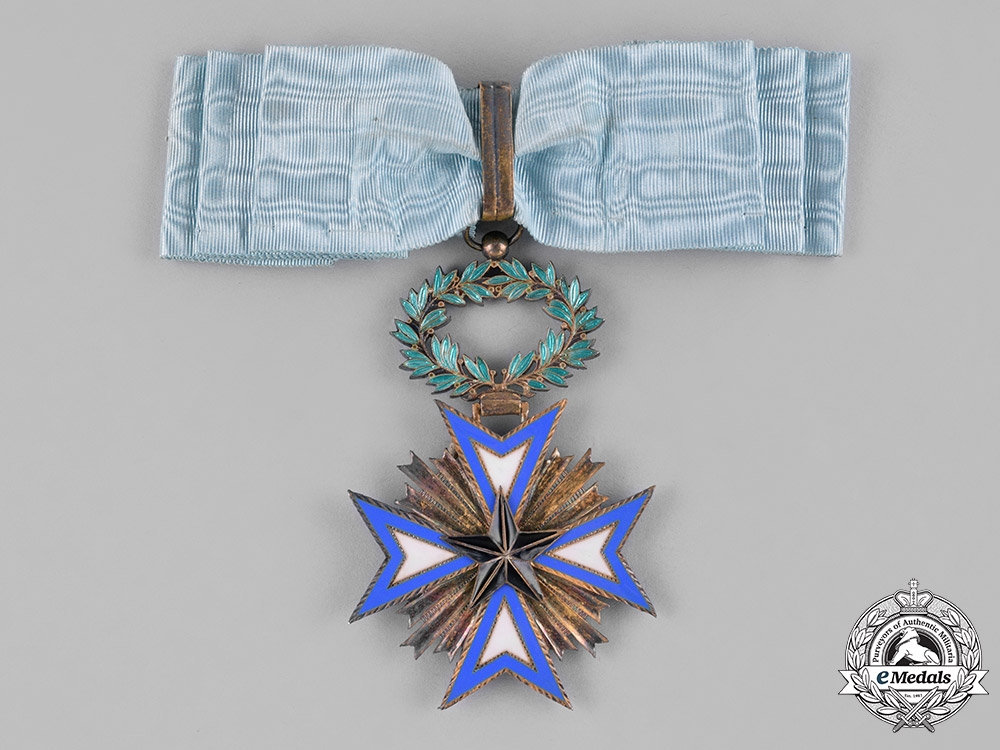 France, Colonial. An Order of the Black Star of Benin, Grand Officer, by Arthus Bertrand, c.1930