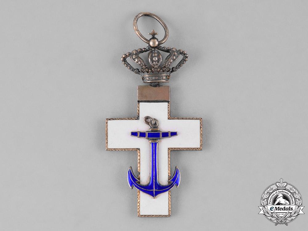 Spain, Kingdom. An Order of Naval Merit, White Division, Grand Cross, c.1920