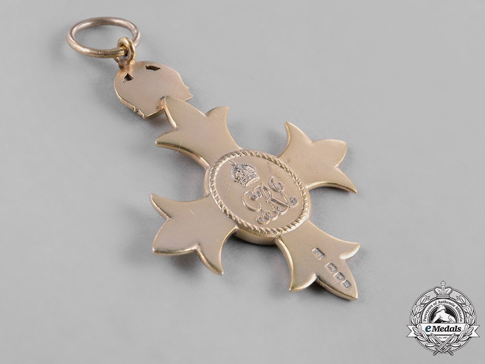 United Kingdom. A Most Excellent Order of The British Empire, MBE, 1918