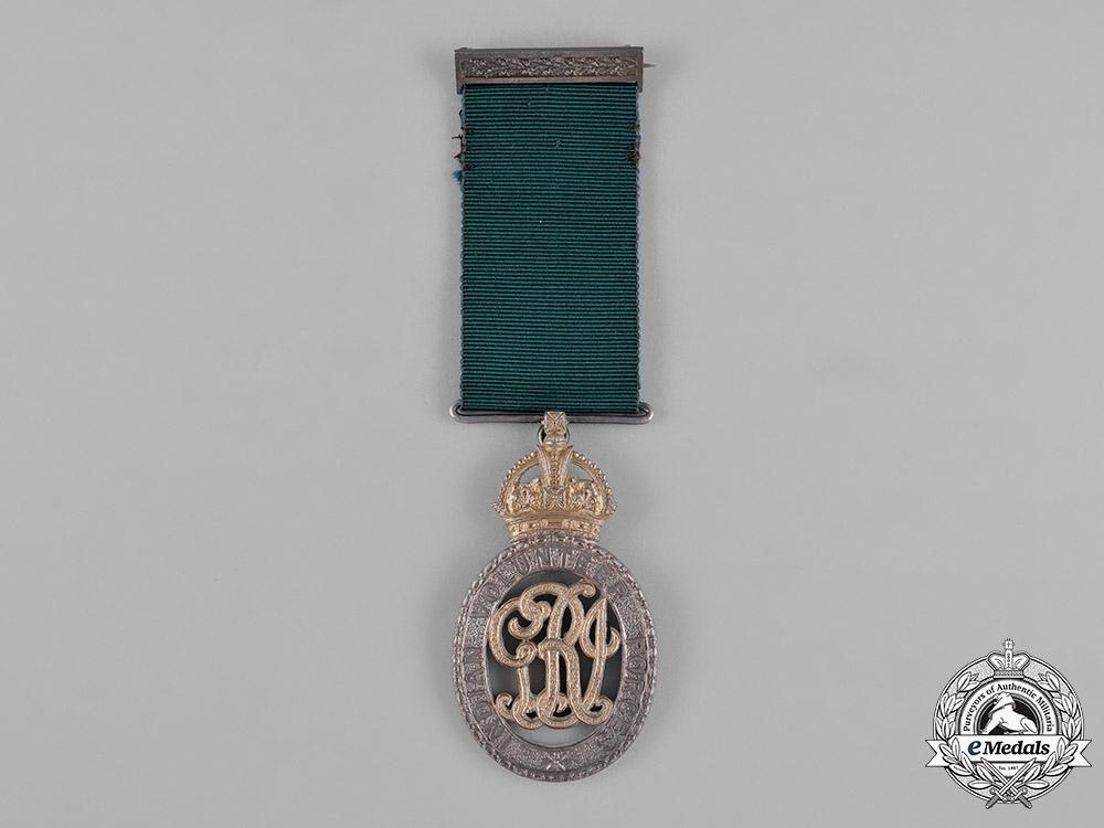 United Kingdom. An Indian Volunteer Forces Officers' Decoration, East Coast Volunteer Rifles