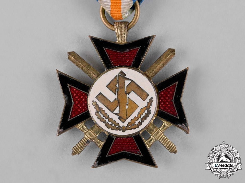 Netherlands, NSB. A Mussert Bravery Cross