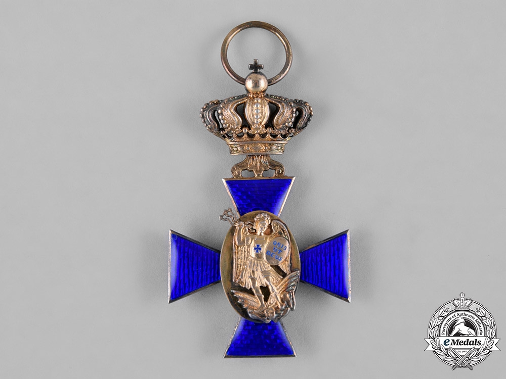 Bavaria, Kingdom. A Royal Merit Order of St. Michael, III Class Cross, by G & S, c.1910