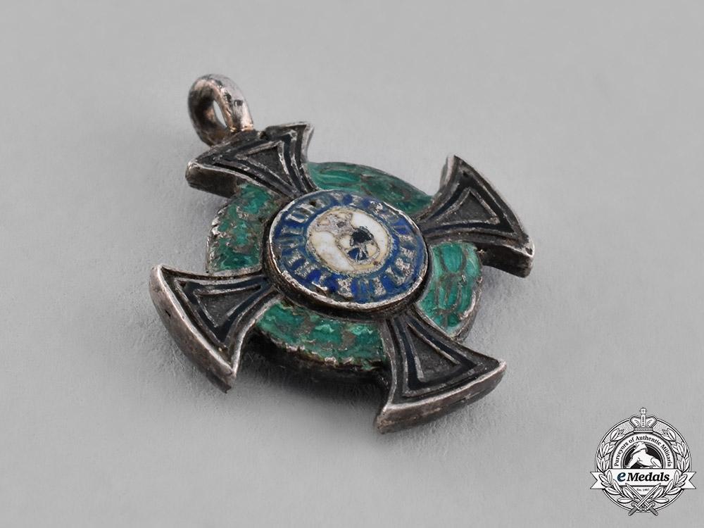 Hohenzollern, State. A Miniature House Order, Honour Cross III Class