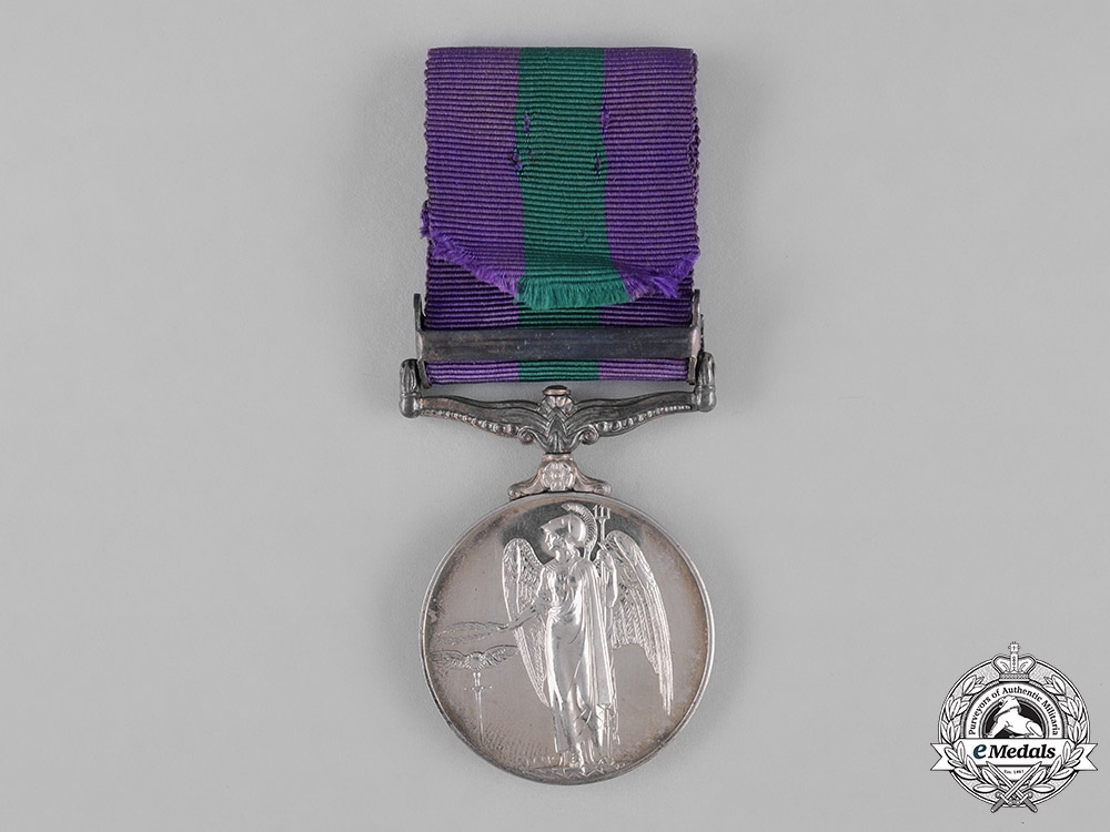 United Kingdom. A General Service Medal, Corp. Govindasamy, Malaya Home Guard
