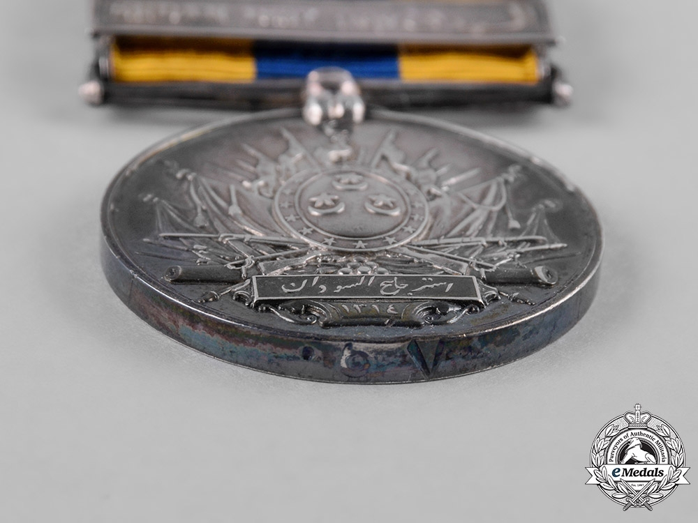 United Kingdom. A Khedive's Sudan Medal 1896-1908, Arabic Named
