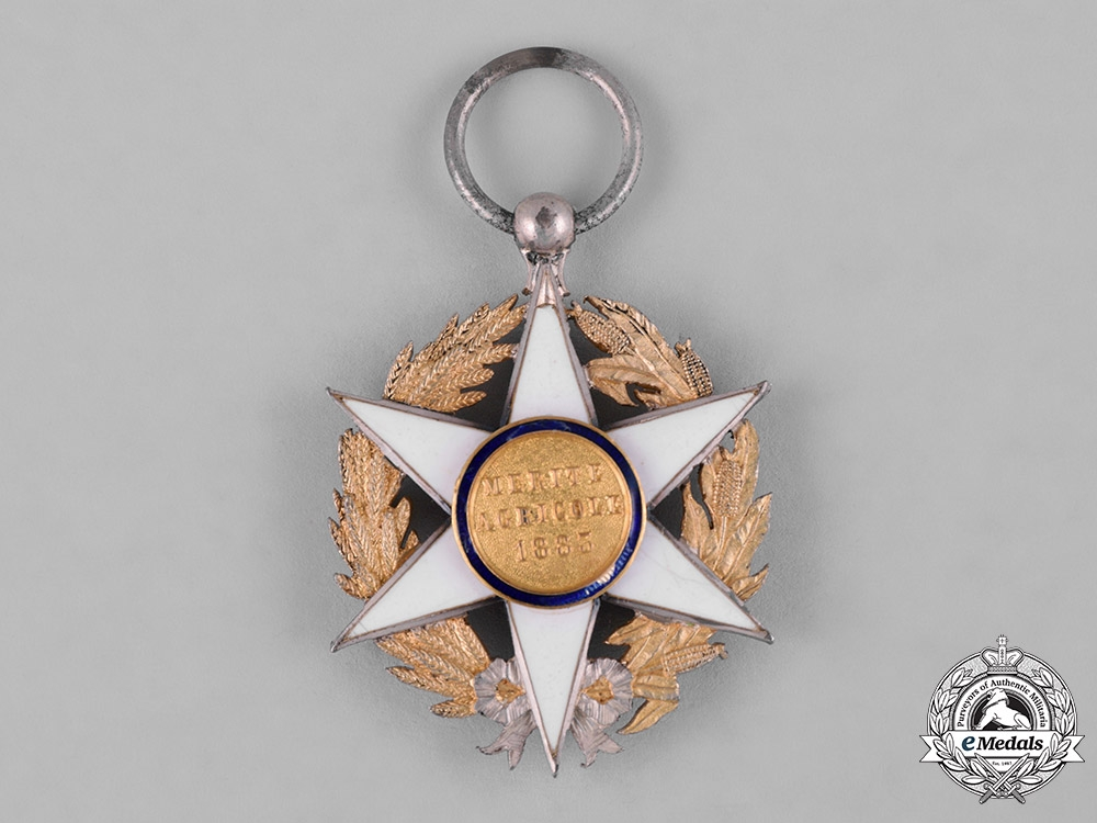 France, II Republic. An Order of Agricultural Merit, III Class Knight, c.1914