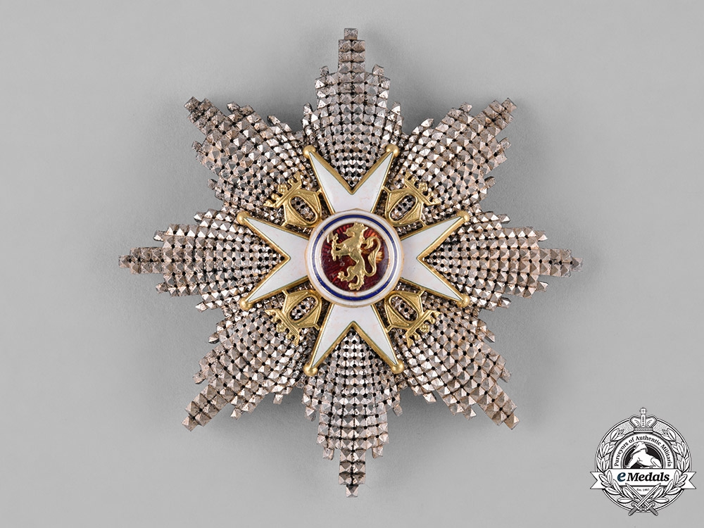 Norway, Kingdom. An Order of St. Olav in Gold, Grand Cross, by Tostrup & Kristiania, c.1910