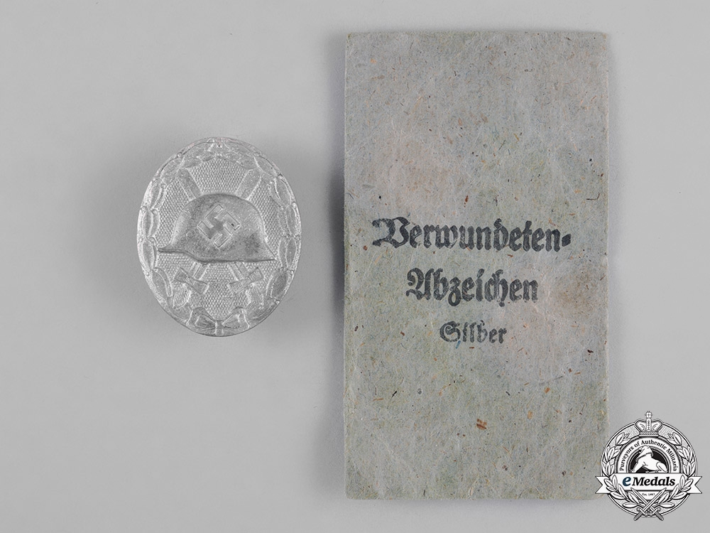 Germany, Wehrmacht. A Silver Grade Wound Badge, by Wächtler & Lange