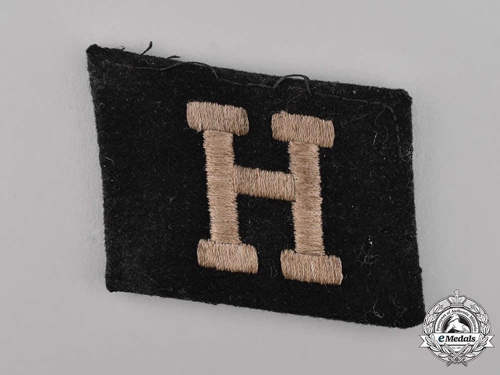 Germany, SS. A Soldbuch & Collar Tab to Bela Pup, 25th Waffen Grenadier Division