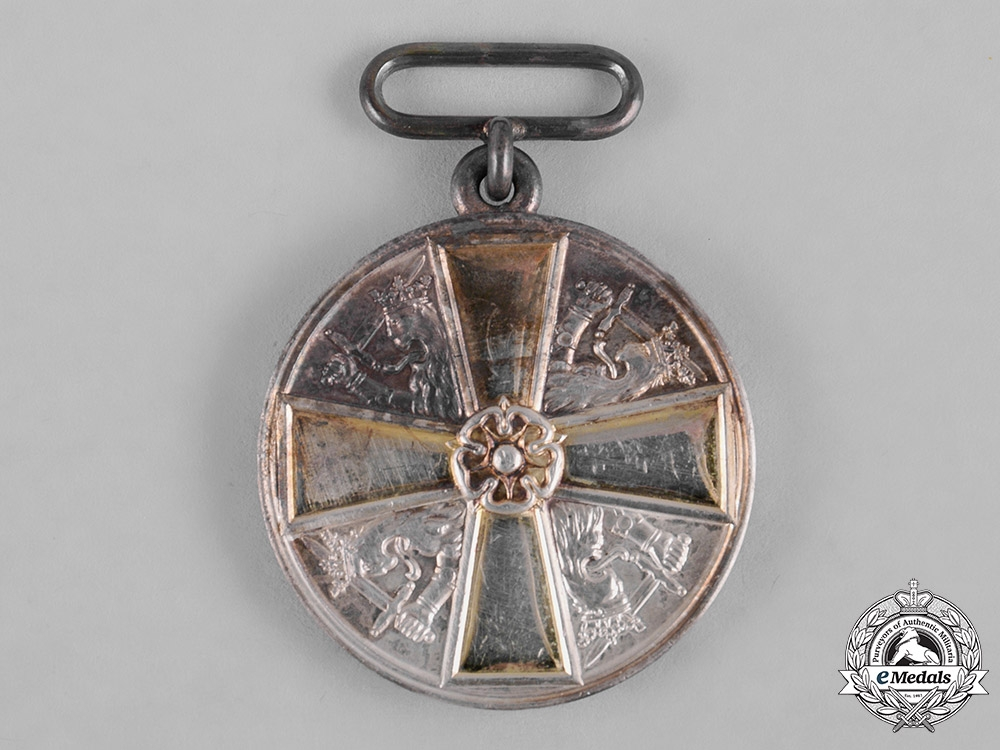 Finland, Republic. An Order of the White Rose, II Class Silver Grade Merit Medal, c.1920