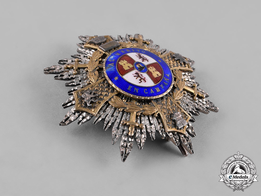 Spain, Civil War. A War Cross, Officers, by Celada c.1936