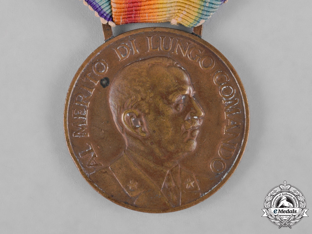 Italy, Kingdom. A Medal of Merit for Long Service in the Cavalry of the Royal Army, III Class, Bronze Grade