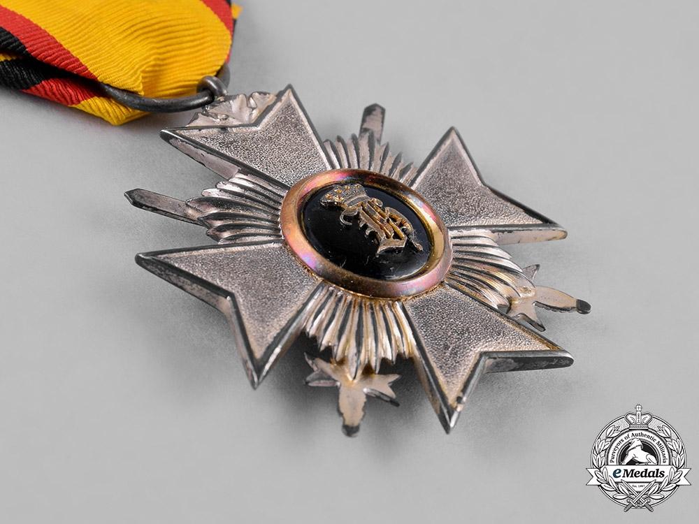 Reuss, County. A Princely Honour Cross, III Class with Swords, c.1914