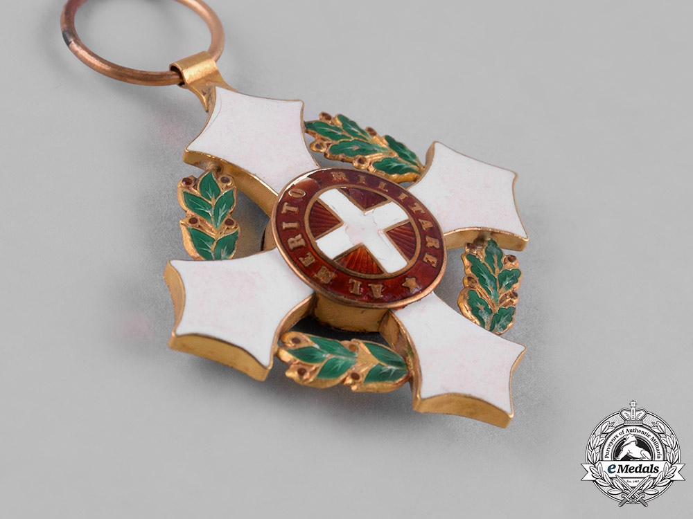 Italy, Kingdom. A Military Order of Savoy in Gold, Knight, c.1900