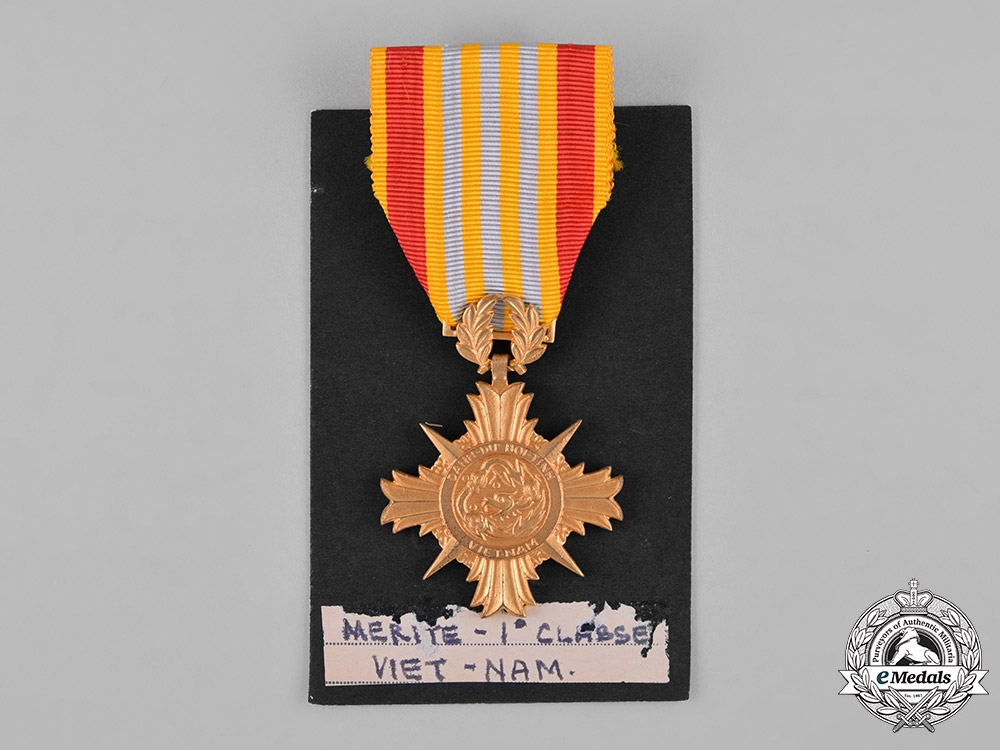 Vietnam, Republic. An Armed Forces Honour Medal of Merit, I Class for Officers, c.1960