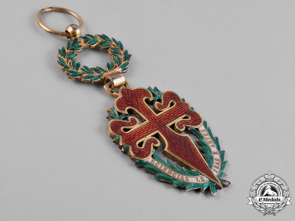 Portugal, Republic. A Military Order of St. James of the Sword, Knight, c.1930