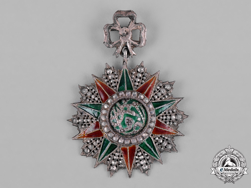 Tunisia, Ottoman Protectorate. An Order of Glory, V Class Knight, c.1875