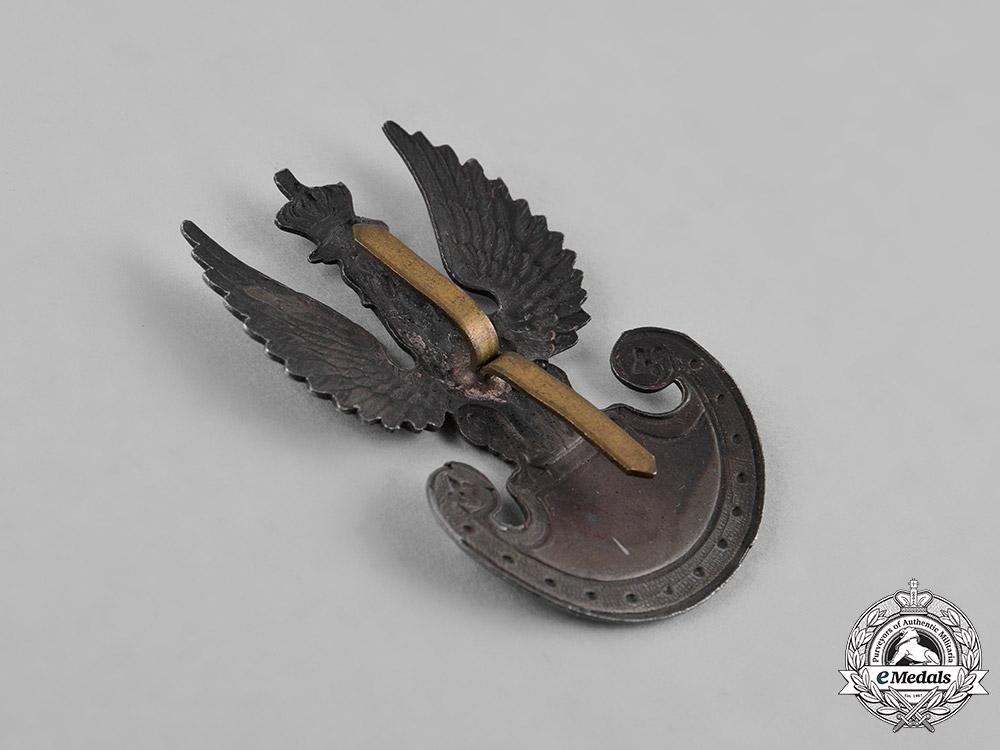 Poland, Republic. Two British Made Polish Cap Badges, c.1942