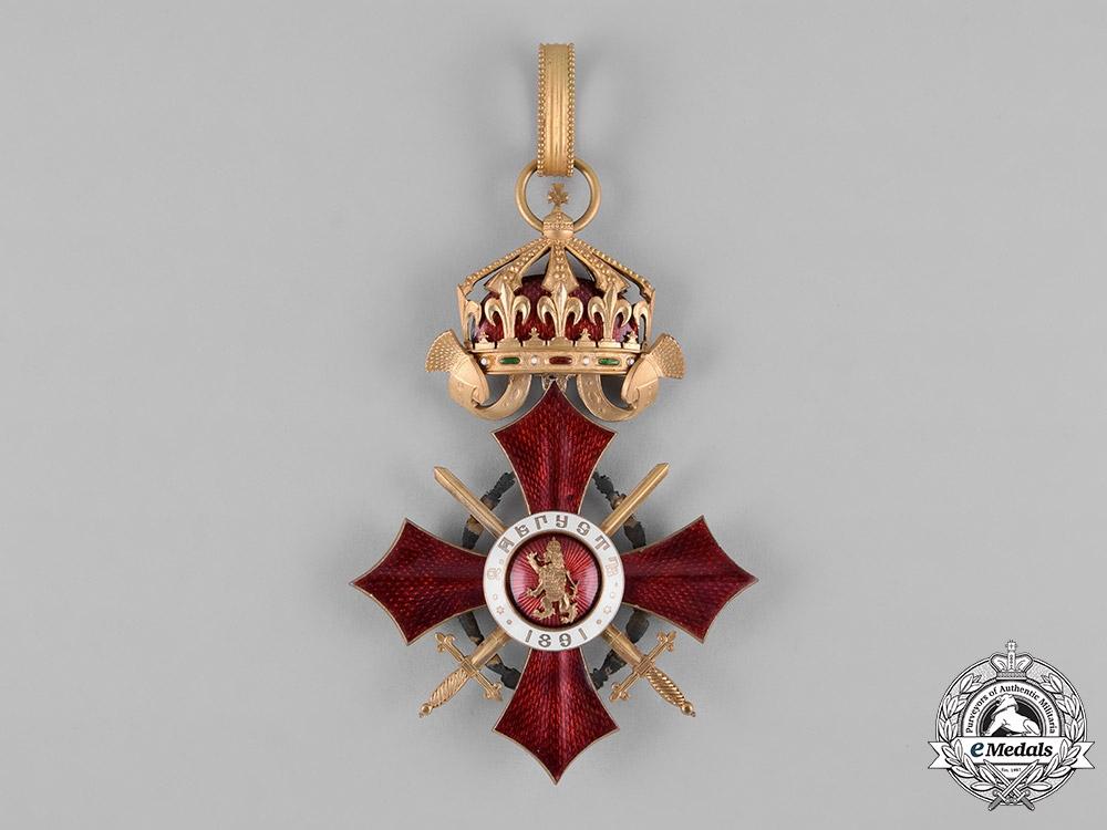 Bulgaria, Kingdom. A Military Merit Order, I Class Grand Cross with War Decoration, by Johann Schwerdtner, c.1940